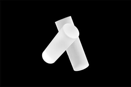 Low stress magnesium fluoride(MgF2) bar